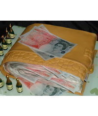 photo  Wallet full of money cake tutorial