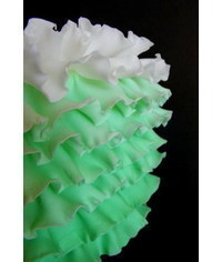 photo  How to make Ombre Ruffles