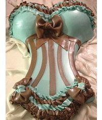 photo How to Create a Corset Cake