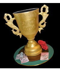 photo 3D Champion Trophy Cup cake tutorial