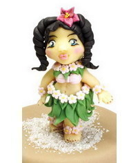 photo hula dancer figurinr tutorial
