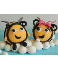 photo   Buzzbee and Rubee characters tutorials