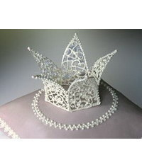 photo Crowns,Tiaras made out of paste,Gumpaste Crown,Tiara