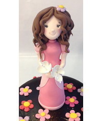 photo  Princess cake topper tutorial