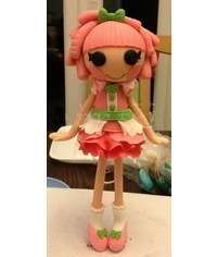 photo  Lalaloopsy doll cake topper tutorial