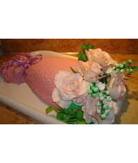 photo  Rose bouquet cake tutorial