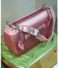 photo Coach Purse cake Tutorial