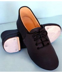photo  How to Make fondant/gumpaste Men's Shoes