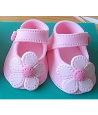 photo  children's sandals, booties, shoes, boots, stencils|gumpaste baby shoes tutorials,baby booties,templates