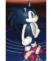 photo  Sonic the Hedgehog cake topper tutorial