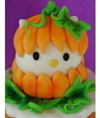 photo Halloween Hello Kitty pumpkin tutorial