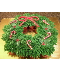 photo  Christmas Cupcake Wreath tutorial