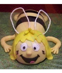 photo  Maya the Bee cake tutorial