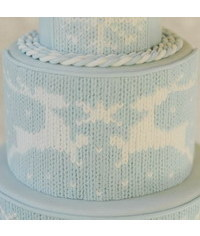 photo  knitted cake tutorial