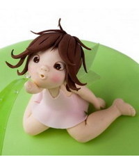 photo How to sculpt girl figurine