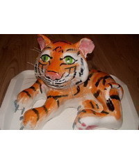 photo  tigr cake tutorial