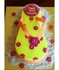 photo Thong cake (Flip-flop cake) tutorial