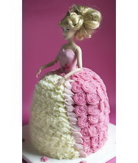 photo классы -Barbie doll cakes how to's
