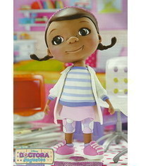 photo Doc McStuffins cake topper tutorial