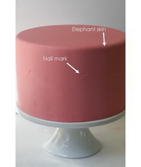 photo Fondant problems and how to fix them