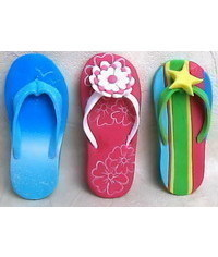 photo  Gumpaste (polymer clay)Flip-Flop making tutorials