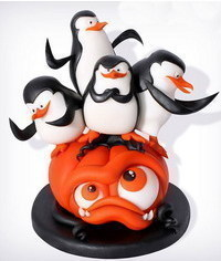 photo Halloween cake toppers tuts