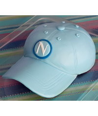 photo gumpaste baseball cap(hat) tutorial