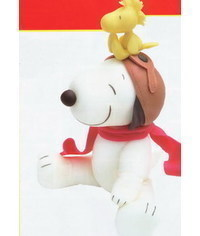 photo Snoopy cake topper tutorial