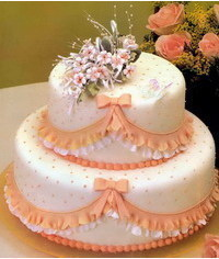 photo  How to decorate cake borders with ruffles