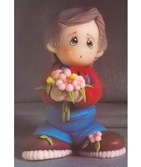photo The Boy With the Flower figurine tutorial