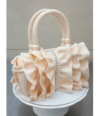 photo Purse cake Tutorial
