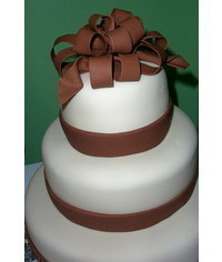 photo  how to build a tiered cake