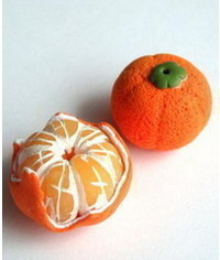 photo  Tangerines step by step
