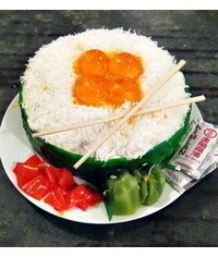 photo Sushi cake tutorial