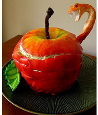photo  How to make a Poisoned Apple cake