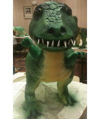 photo  T-Rex Cake 3D Tutorial