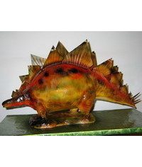 photo Carved Stegosaurus Cake tutorial