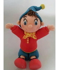 photo Noddy cake topper tutorial