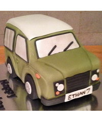photo Land Rover 3D Cake Tutorial