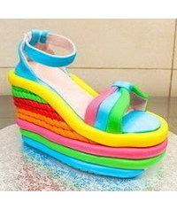 photo  High Heel Wedge Shoe Cake