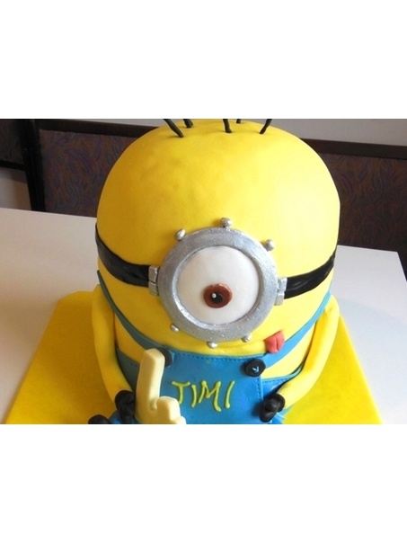 My first minion cake ;)