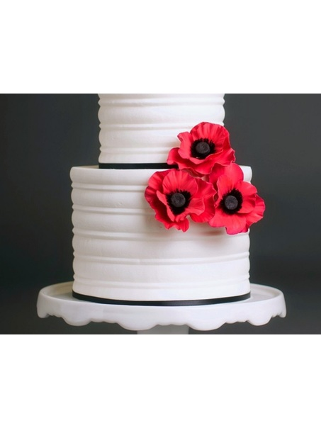 Classic Buttercream cake, sometimes simple is best! Thanks for looking!