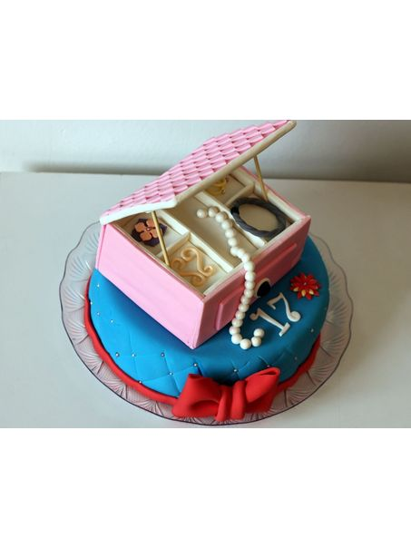 A fancy Jewelry box for a pretty girl.