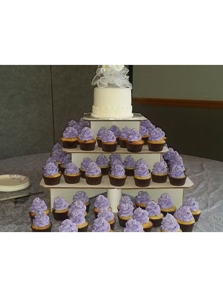 Purple and white vintage wedding :)
