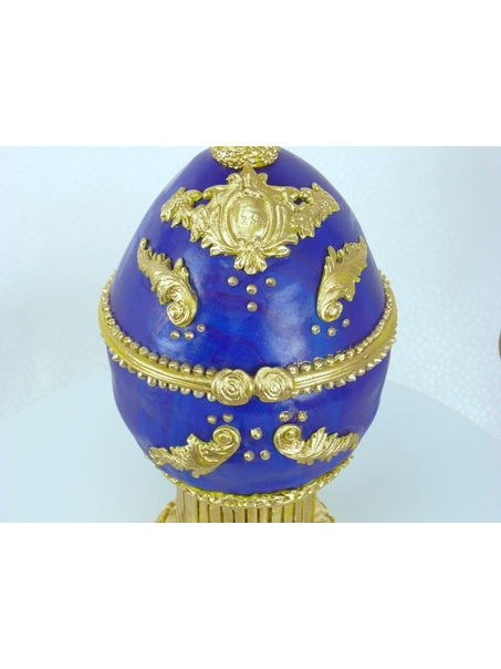 I made this Faberge egg for Easter this year. Always wanted to make one! TFL!!