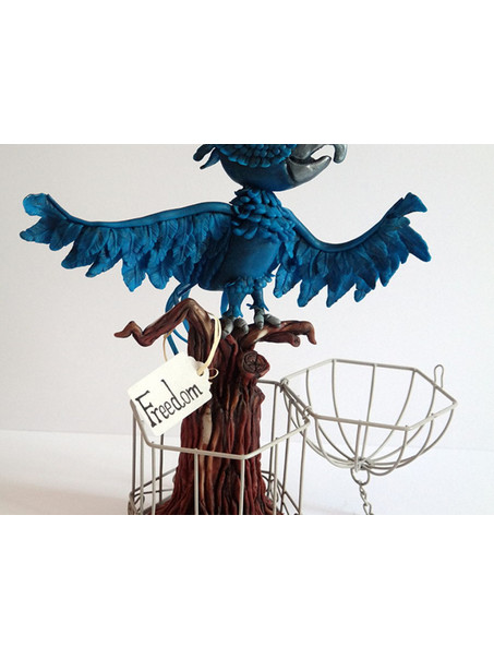 My Blue Macaw for a Great Collaboration...