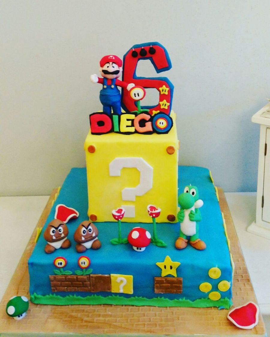 Super Mario Cake how to make