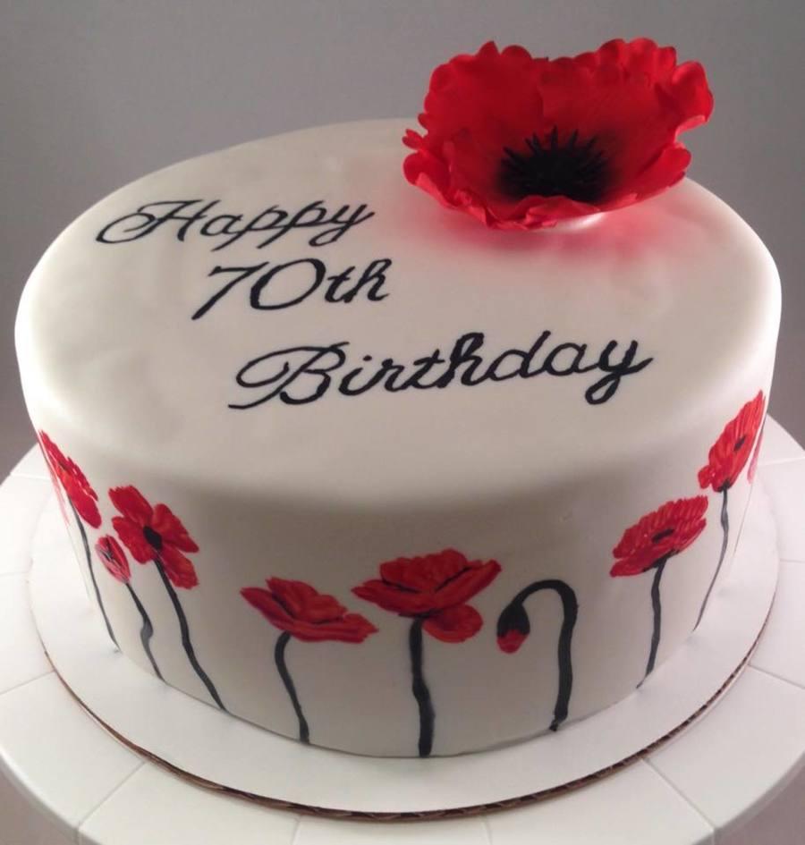70Th Birthday Cake How To Make