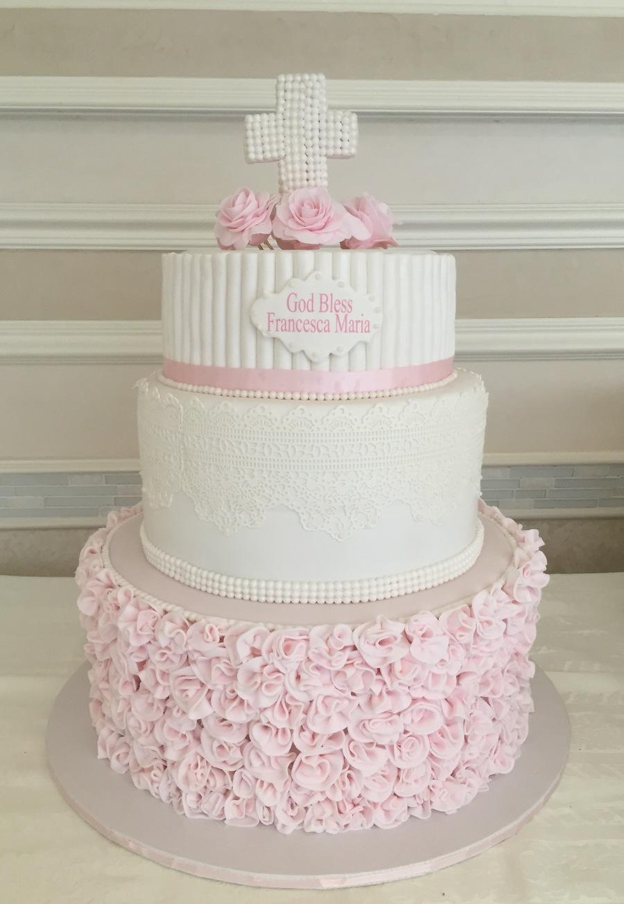 Christening Cake how to make