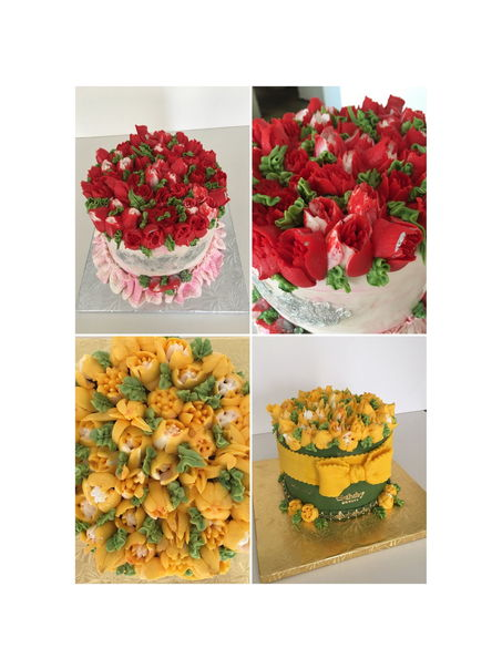 фото  Bouquets of alcoholic beverages